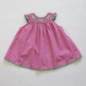 Vintage Watermelon Gingham Dress by b.t. kids